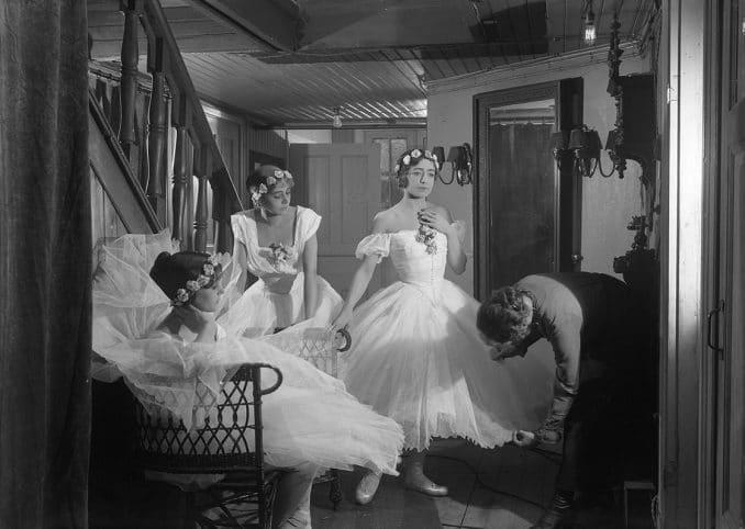 Balettprimadonnan