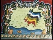 Dalmålningar på film Sju magra och sju feta kor
