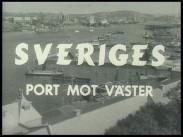 Sveriges port mot väster