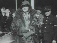 Med Greta Garbo på Svenska Amerikalinjens fartyg