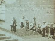 Konungens af Siam landstigning vid Logårdstrappan