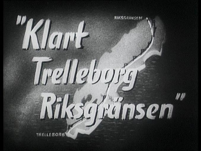 Klart Trelleborg-Riksgränsen