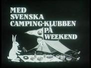 Med Svenska Camping-klubben på weekend