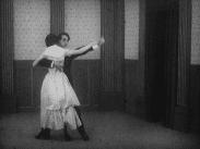 Ett dansande par.