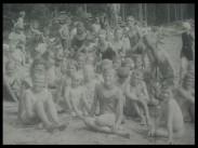 Bilder från badkolonien i Grängesberg