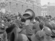 Dyrtidsdemonstration vid riksdagshuset
