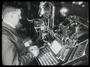 En modern tryckeriofficin