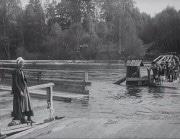 Flottbron vid Leksand