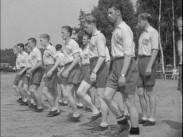 Fotbollslandslaget tränar på Bosön