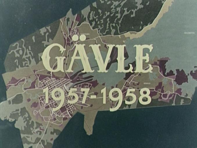 Gävle – 1957 års stadsfilm