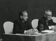 Dag Hammarskjöld UN Archives. 200. General Assembly 882nd and 883rd Plenary Meetings, Secretary General's Statement (1960)