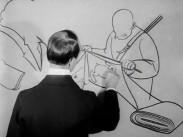 Gulaschen köper konst - Teckning av Paul Myrén