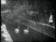 Handtverksindustri-utställningens öppnande i Hudiksvall 1913