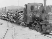 Järnvägsmannasällskapets resa till Norrland