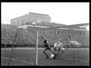 Landskampen Ungern-Sverige i fotboll