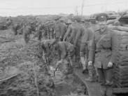 Med engelska armén i Frankrike