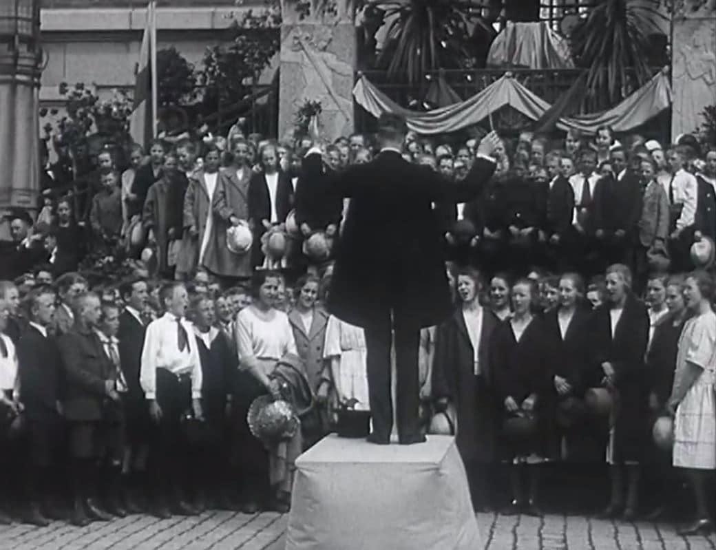 Minnesfilm från Borås Stads 300-årsdag d. 25 Maj 1922
