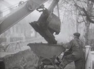 Omläggning av gammal avloppsledning