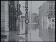 Hugo Ullstrands samling. Nr 9 - Översvämning i Evansville Indiana USA 1937