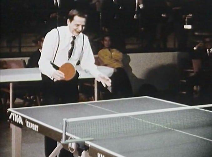 Pingis – allas idrott