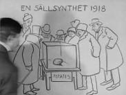 Potatisbristen – Teckning av Nils Ringström