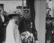 Riksdagens upplösning 1914 ; Nordiska Museet ; Blandat innehåll. Göteborg, Stockholm och Gustav V