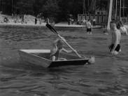 Strandhugg vid Sagosjön