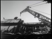 Tagning Rivningen av Sandrew-Ateljéerna februari 1962