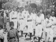 Turkiet indraget i världskriget. Turkiets mobilisering