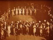 Uppsala studentkårs bal i universitetets aula anno mundi 1927
