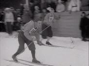 Veckorevy 1945-03-05 Svenska mästerskapen på skidor i Kramfors