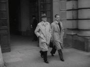 Östen Undén och Dag Hammarskjöld i samband med att den nya regeringen samlats i oktober 1951 till vilken Hammarskjöld var konsultativt statsråd.